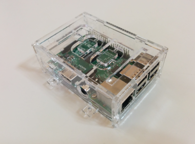 Small raspberry pi cese appearance