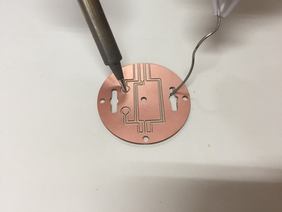 Small soldering