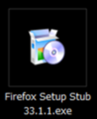 Small ss firefox icon