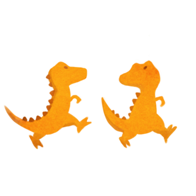 Small icon dino orange01