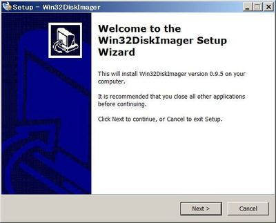 Small 20160410 win32diskimager install