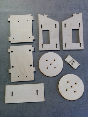 Small laser cutter body